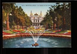 MONACO MONTE CARLO LE CASINO ET LE JARDIN - Monte-Carlo