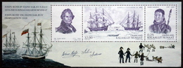 Greenland 2010  Expedition Ross And Sakæus     Minr.569-70  BLOCK 51   MNH  ( ** ) ( Lot  Mappe ) - Unused Stamps