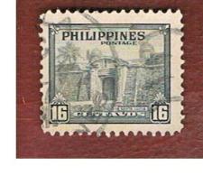 FILIPPINE (PHILIPPINES) - SG 632  -  1947   SANTA-LUCIA GATE     - USED ° - Filippine