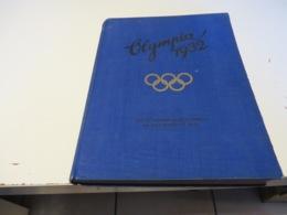 OLYMPIA. LOS  ANGELES  1932. ZIGARETTENBILDER - SAMMELBUCH  Mit  Allen  BILDER - Sammelbilderalben & Katalogue