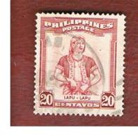 FILIPPINE (PHILIPPINES) - SG 733  -  1955 LAPU-LAPU    - USED ° - Filippine