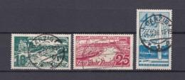 Danzig - 1936 - Michel Nr. 259/261 - Gestempelt - Danzig