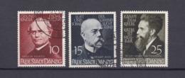 Danzig - 1939 - Michel Nr. 306/308 - Gestempelt - Danzig
