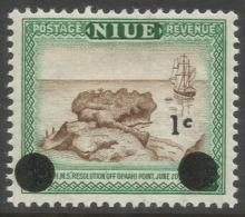Niue. 1967 Decimal O/P. 1c MNH. SG 126 - Niue