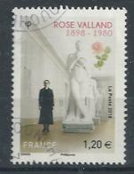 FRANCIA 2018 - Rose Valland - Cachet Rond - Gebraucht