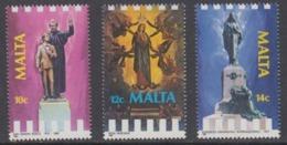 Malta 1988 Religious Jubilees 3v ** Mnh (44759) - Malta