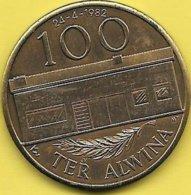 100 TER ALWINA 1982 TERALFENE - Tokens Of Communes