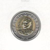Cuba. 5 Peso. Bimetal. UNC. 2016 - Cuba