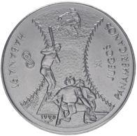 Cuba. Coin. 1 Peso. Sports Games In Havana In 1991. Baseball. UNC. 1990 - Cuba