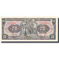 Billet, Équateur, 20 Sucres, 1986, 1986-04-29, KM:121Aa, SUP+ - Equateur