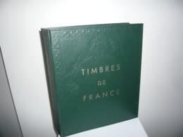 ALBUM YVERT  + FEUILLES YVERT FRANCE 1849/1969 - Collections (en Albums)