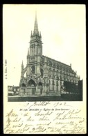 ROUEN (76) - 136 : Eglise De Bon-Secours - Précurseur, Dos Non Divisé, Vers 1900. - Rouen