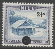 Niue. 1967 Decimal O/P. 2½c MNH. SG 128 - Niue