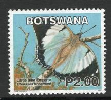 Botswana, Yv 996 Jaar 2007, Vlinders, Gestempeld - Botswana (1966-...)