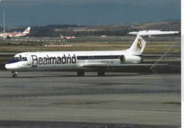 Real Madrid Swiftair Airlines MD 83 EC-JQV Swift Air At Madrid MD-83 - 1946-....: Era Moderna