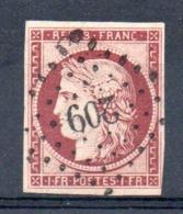 SUPERBE - YT N° 6 Signé Calves - Cote: 1000,00 € - 1849-1850 Cérès