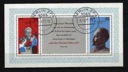DDR - Block Nr. 49 - 100. Geburtstag Von Feliks Dserschinkij Gestempelt BERLIN - [6] República Democrática