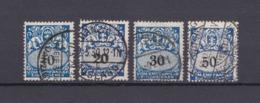 Danzig - Portomarken - 1923 - Michel Nr. 31/33, 35 - Danzig