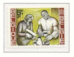 NB - [150156]SUP//**/Mnh-[1245] Belgique 1963, Contre La Faim, Confection Du Pain, SNC - Agriculture