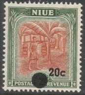 Niue. 1967 Decimal O/P. 20c MNH. SG 133 - Niue