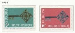 NB - [150569]SUP//**/Mnh-c:2e-N° 1452/53, EUROPA-CEPT 1968, Clef, Symbole D'une Europe Unifiée, SNC - Bélgica