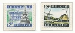 NB - [150589]SUP//**/Mnh-N° 1461/62, Tourisme, Genk Et Spa, SNC - Bélgica