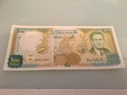 Billet 1000 Pounds Syrie 1997 - Siria