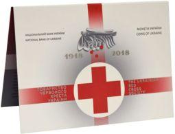 Ukraine. Coin. 5 Hryvnia. 2018. UNC. 100 Years Of Foundation Of The Red Cross Society Of Ukraine. Souvenir - Ukraine