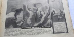 DOMENICA DEL CORRIERE 1950 MONTORO FILOTTRANO ANCONA SARDEGNA - Libros, Revistas, Cómics