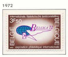 NB - [150979]SUP//**/Mnh-N° 1621, Propagande Pour L'exposition 'BELGICA 1972', Sigle De L'expo, SNC - Bélgica