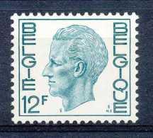 NB - [151040]SUP//**/Mnh-c:2e-N° 1648, 12F Vert-bleu, Type Elstrom, Papier Polyvalent, SNC - 1970-1980 Elström