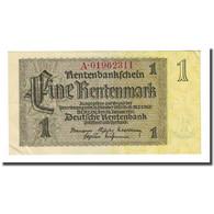 Billet, Allemagne, 1 Rentenmark, 1937-01-30, KM:173b, TB - [ 3] 1918-1933 : República De Weimar
