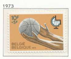 NB - [151096]SUP//**/Mnh-[1666] Belgique 1973, Basket Ball Pour Handicapés, SNC - Handisport