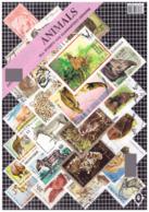 World Animal Stamps CTO 24 Stamps In Pack - Briefmarken