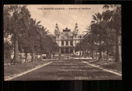 MONACO MONTE CARLO CASINO ET JARDINS - Monte-Carlo