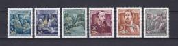 DDR - 1955 - Michel Nr. 485/490 - Postfrisch - 18 Euro - DDR