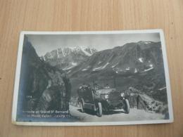 CP 77 / SUISSE / EN ROUTE AU GRAND ST BERNARD / CARTE NEUVE - Switzerland