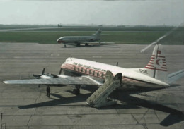 THY Turk Hava Yollari Turkish Airlines Vickers Viscount 794 TC-SEL At ZYR - 1946-....: Era Moderna
