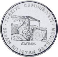 "Turkey 2.5 Liras 1970 ""FAO. Ataturk"" AU-UNC - Turkey"