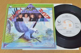 Asia 45t Vinyle Don't Cry Japon - Hard Rock & Metal