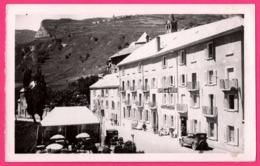 Cp Photo - La Grave - Hôtel Des Alpes - Promenades Et Excursions - Vieille Voiture - Edit. GEP - France