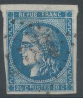 Lot N°50861  N°45, Oblit GC 4484 Souchez, Pas-de-Calais (61), Ind 17 - 1870 Emissione Di Bordeaux