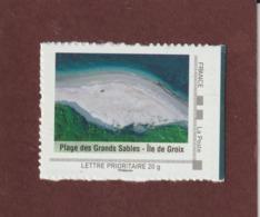 Montimbreamoi -  Pour Lettre Prioritaire De 20g - ÎLE DE GROIX . Plage Des Grands Sables - Morbihan - France