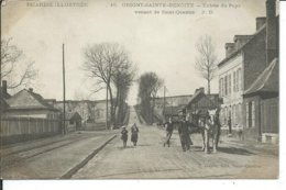 Origny-Sainte-Benoite- Entrée Du Pays Venant De Saint-Quentin - Autres Communes