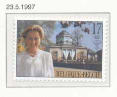 NB - [153808]TB//**/Mnh-[2706] Belgique 1997, Reine Paola Et Le Château Du Belvédère, émission Commune Avec L'Italie, SN - Emissions Communes