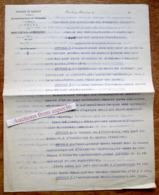 Commune De Houdeng-Aimeries, Transport Par Corbillard Des Personnes Décédées, Cahier Des Charges, 1909 - Verzamelingen