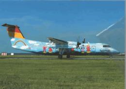 Tyrolean Airlines DE Havilland Dhc-8 Dash 8 OE-LTD At PRG In Passato Nominata Austrian Arrows - 1946-....: Era Moderna