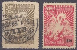 MOZAMBICO - 1943/1951 - Lotto Composto Da 2 Valori Per Beneficienza: Yvert 10 Nuovo Senza Gomma E 16 Usato. - Mozambico