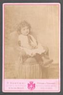 ENFANT - BEBE' - BAMBINO - PHOTO CM. 10,5X16,5 - BERTIERI TORINO - Persone Anonimi