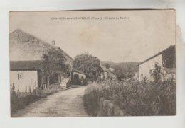 CPA CHARMOIS DEVANT BRUYERES (Vosges) - Chemin Du Roulier - France